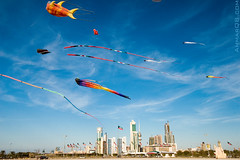 City of the future - Kuwait national day (Ammar Alothman) Tags: city sky kite colors canon interesting day cityscape gulf calendar bluesky kites explore kuwait february independence ammar 1022 هلا kuwaitcity kw 2007 bestofflickr q8 30d 2526 الكويت canon1022 canon30d عمار فبراير ammaralothman عمارالعثمان kuwaitpictures anawesomeshot kuwaitphotos hellofebruary halafebruary hellofebruaryfestival kuwaitpic kuwaitpictrue whereiskuwait yearinreview2007 هلافبراير kuwaitvoluntaryworkcenter مركزالعملالتطوعي صورالكويت 10interestingpicturesthattellstoriesoftheflickrphotocommunity kuwaitnationalday علمالكويت 2526february مهرجانهلافبراير عيدالاستقلال عيدالتحرير احتفالاتالكويت فرحةالكويت الاعيادالوطنية 2526فبراير استقلالالكويت تحريرالكويت العيدالوطنيوعيدالتحرير صورمنالكويت