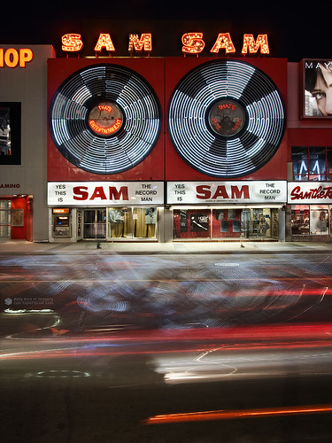 Picture of the Flagship Sam the Record Man store in Toronto