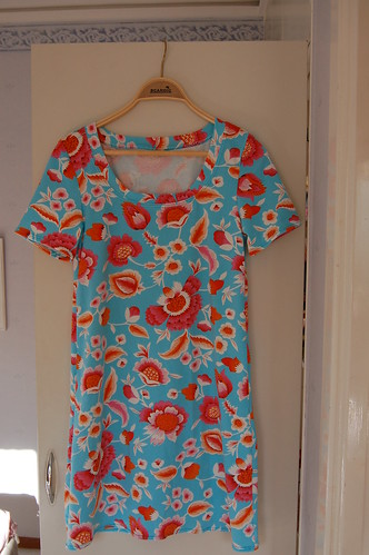 Turquise summer dress
