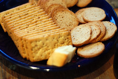 crackers and melba toast