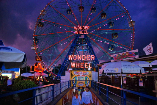 Wonder Wheel at Dusk