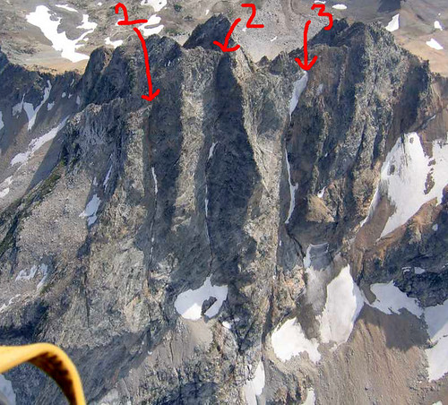 Buck Mtn Couloirs