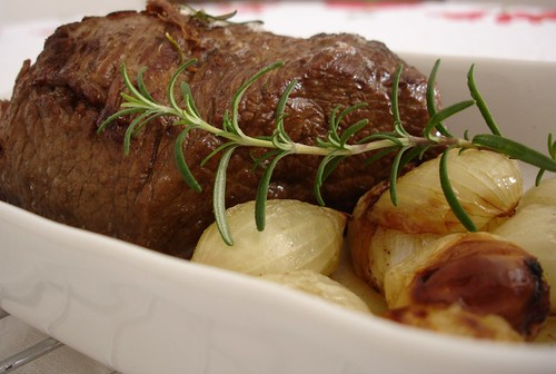 Beef with shallots
