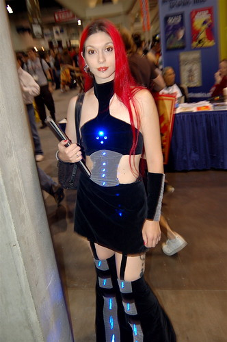 Comic Con 2007: Dress with Lights