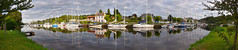 pontrieux (mlohninger) Tags: ocean sunset sea panorama france reflection water marina river landscape boats frankreich marine brittany meer sailing view cloudy bretagne panoramic rivire breizh yachts sailboats stich kste bzh atlantique ozean ctesdarmor trieux cotedarmor pontrieux armorique letrieux havor bretonisch