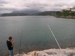 Una caa doble (esmiz) Tags: asturias sanroque lastres asturies llastres