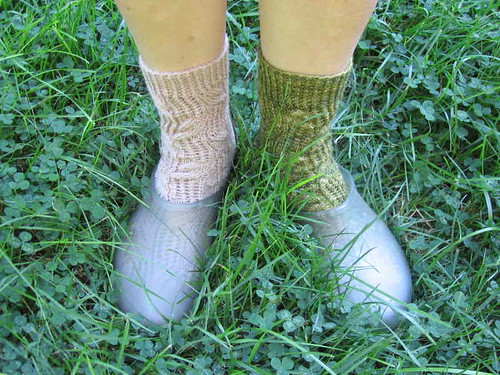 Meadowlands Socks in meadow