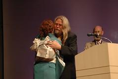 Me hugging Naomi Novik
