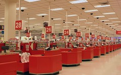 Target (A Sutanto) Tags: california ca usa shop retail america shopping store discount counter indoor rows target dalycity serramonte cashier