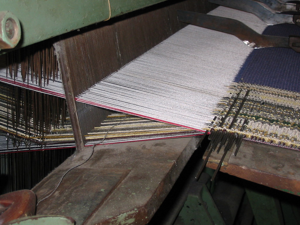 Wilton Carpet Loom