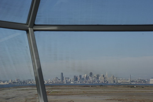 The view from Squid Labs' tower.  Photo by Andrea Dunlap