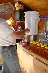 Bottling the honey