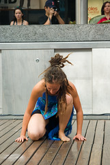 Papasa 101: African Drum, Song and Dance - The Dancers (Craig Jewell Photography) Tags: mall iso200 australia brisbane queensland f71 queensstreet 120sec pentaxk10d cpjsm craigjewellphotography