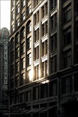 Last moment of Sun (Lucas Janin | www.lucas3d.com) Tags: california street old city usa reflection building window sign iso200 losangeles nikon downtown outdoor f80 nikkor ville lightroom 102mm lightroom3 nikond700 lucasjanin sec afsvrnikkor70200mmf28gifed