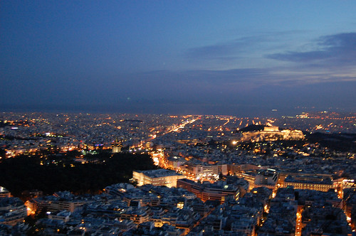 greece - athens - from lykavittos