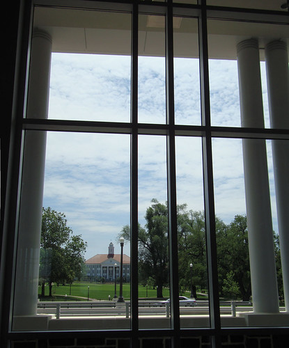 View of Wilson Hall from the Grand Lobby