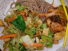 Korean Tofu Dish (JessfromMidwestVegan) Tags: vegan tofu korean noodles