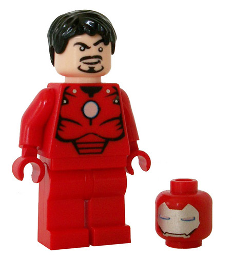 Iron-Man (Tony Stark Version) Custom Minifigure