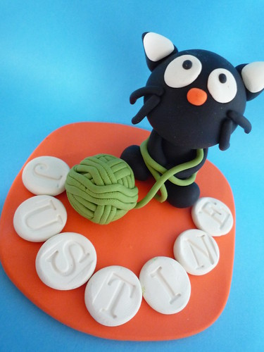 Chococat cake topper for Justine