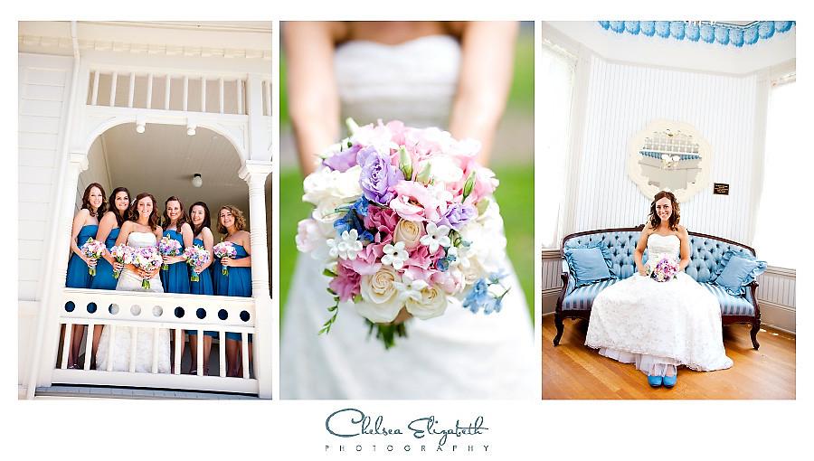 Camarillo Ranch House bridesmaids and bridal portrait image