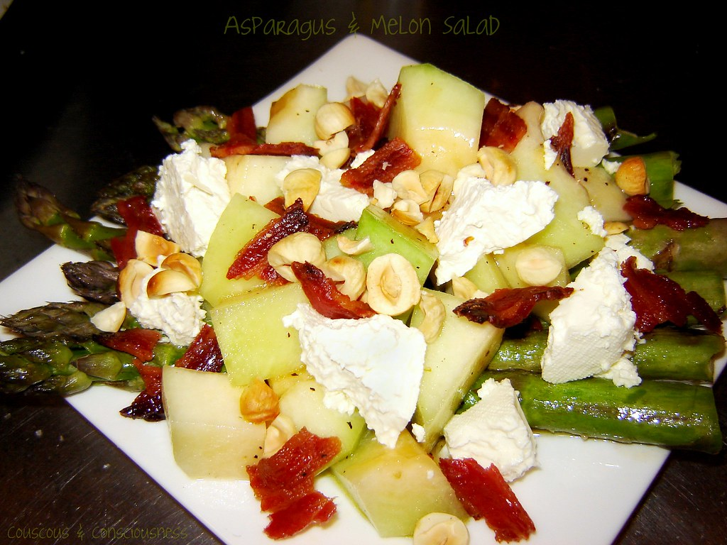 Asparagus & Rock Melon Salad 2, edited