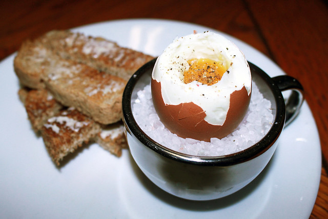 how to cook the perfect boiled egg with runny yolk