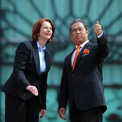 High Level Chat | Julia Gillard (Left) | Muhyiddin (wazari) Tags: portrait news history person photography asia julia character political assignment photojournalism australia personality event international malaysia kualalumpur putrajaya primeminister politic primeministeroffice vvip yassin internationalnews deputyprimeminister welcomingceremony muhyiddin highprofile juliagillard primeministerofaustralia wazari primeministerdepartment muhyiddinyassin wazariwazir officialassignment juliagillardmp timbalanperdanamenterimalaysia malaysiadeputyprimeminister primeministerjuliagillard