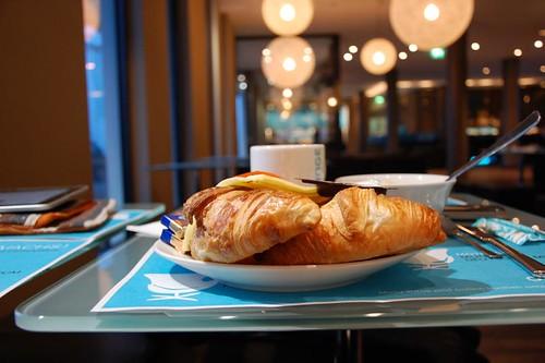 3 Croissants zum Frühstück