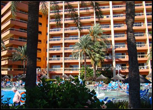 Piscinas hotel de Benalmadena