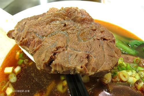 神仙川味牛肉麵牛肉仔細看