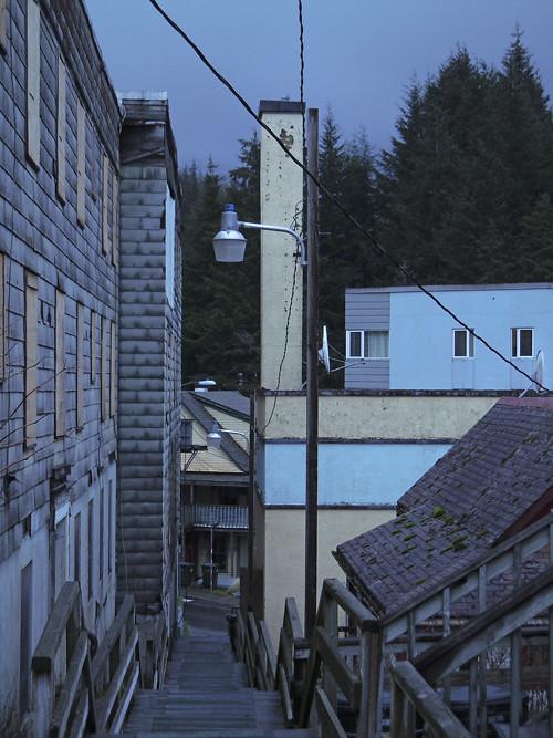 staircase street, Ketchikan, Alaska