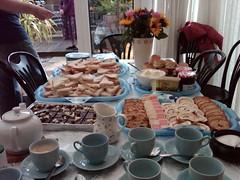 Cream Tea for Grandmas 85th birthday (eltpics) Tags: uk england food cakes spread tea britain scones teatime afternoontea eltpics