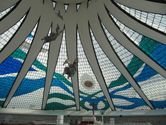 Catedral Metropolitana Nossa Senhora Aparecida (carlosoliveirareis) Tags: brazil heritage church southamerica niemeyer braslia brasil architecture cathedral unesco angels whbrasil