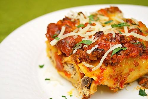 Instant Pot: Sausage & Mushroom Cannelloni
