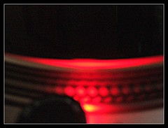 Black: Vinyl and Turntable (downing.amanda) Tags: black dj vinyl technics turntable 2007 utata:project=justblack