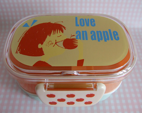 Love an apple - bento.