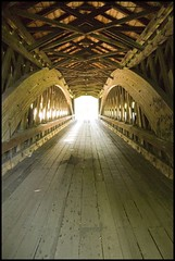 Trusses of Benetka Road Covered Bridge (Corey Ann) Tags: road bridge ohio explore covered coveredbridge cwd benetkaroadcoveredbridge cwdexplore benetka cwdweek21 cwd211