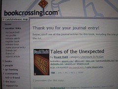 BookCrossing.com website submission