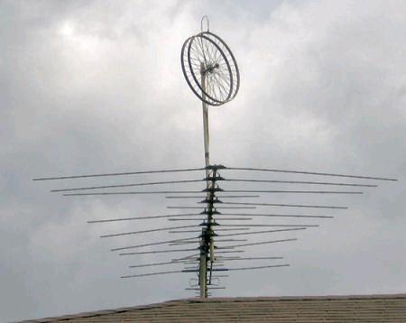 Antenne-roues au IGA de Ste-Thérèse