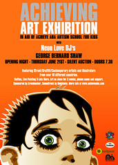 Poster 4 Achieving Art Exhibition