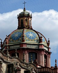 Cathedral dome (Z Eduardo...) Tags: sky colors mexico searchthebest cathedral catedral dome taxco cpula