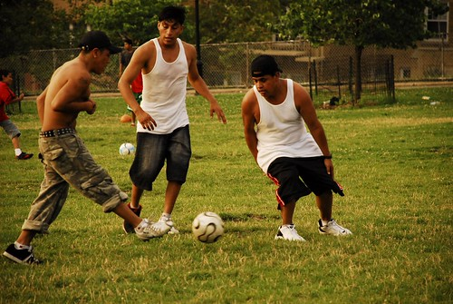 A Futbol Game in Sunset Park 1
