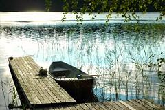 Suurijrvi, Tuusniemi (Milan Kuminowski) Tags: suomi finland boot see finnland ufer ost nord steg kommune smrgsbord it ruderboot savo supershot terrascania tuusniemi pohjois naturewatcher suurijrvi pajumki