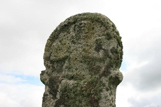 christianized standing stone