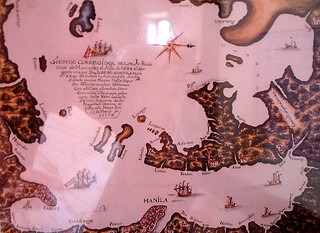 An old map of the Philippines