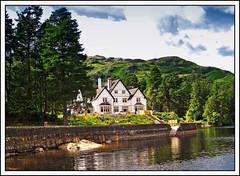 Stronachlachar (edowds) Tags: trees house scotland stirling lochkatrine stronachlachar flickrelite