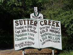 20070505 Welcome Sutter Creek