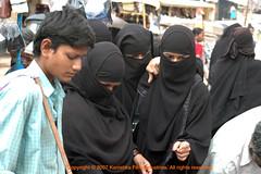 That One! (India Pictures) Tags: india muslim hijab modesty indians niqab charminar burkha telugu urdu andhrapradesh ramzan muslimwomen idd hyderabadis