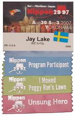 Jay Lake's Nippon 2007 Badge