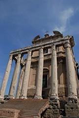 安東尼斯與法斯提納神殿(Tempio di Antonius e Faustina)